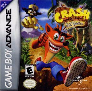 Crash Bandicoot: The Huge Adventure - Capa