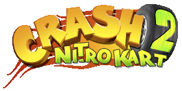 crash nitro kart 2 logo