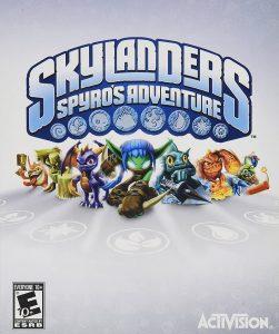 skylanders spyro adventure cover
