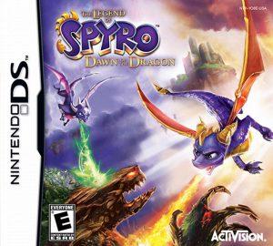 spyro dawn of the dragon ds cover