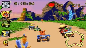 crash nitro kart gba screenshot (1)
