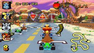 crash nitro kart gba screenshot (10)