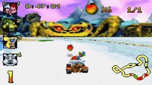 crash nitro kart gba screenshot (12)