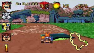 crash nitro kart gba screenshot (2)