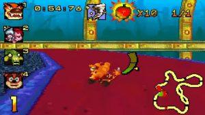 crash nitro kart gba screenshot (5)