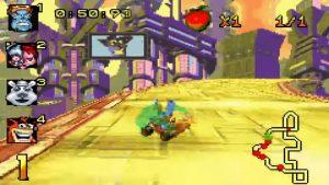 crash nitro kart gba screenshot (9)