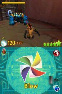 crash of the titans ds screenshot