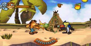 crash of the titans gba screenshot (4)