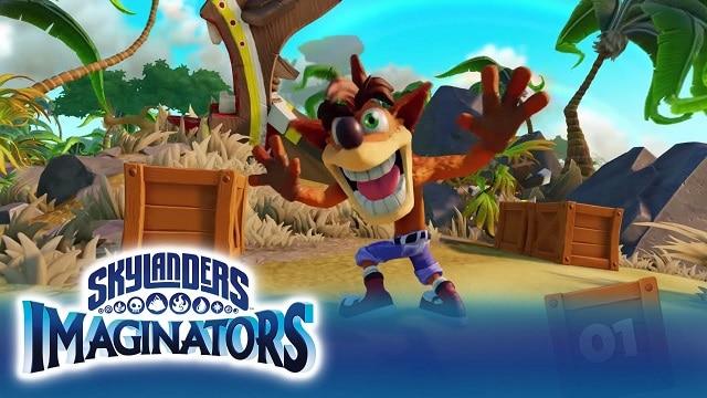 skylanders imaginators crash cover 2