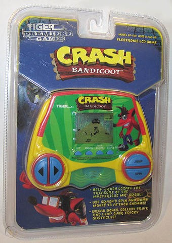 Crash Bandicoot LCD