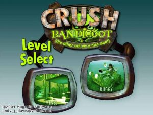 crush bandicoot screenshot 1