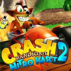 crash bandicoot nitro kart 2 cover