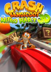 crash bandicoot nitro kart 3d cover